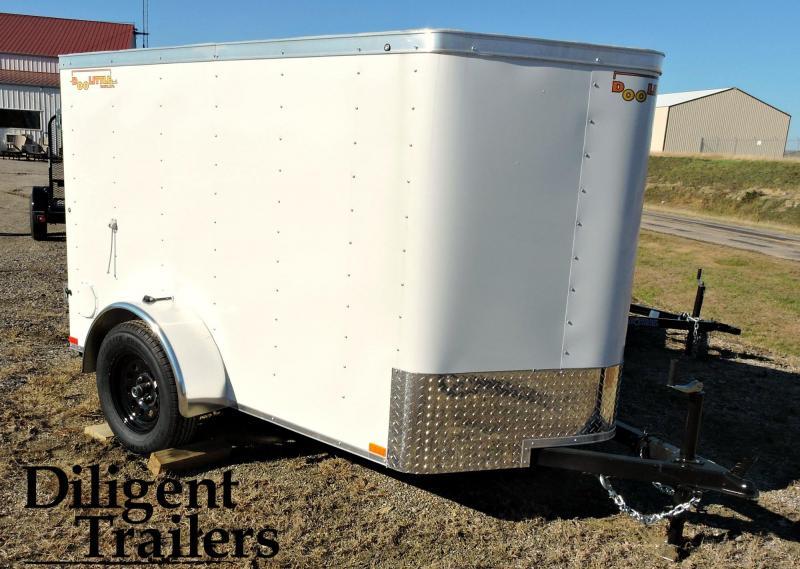 2019 Doolittle Trailer Mfg 5'x8' Enclosed Cargo Trailer