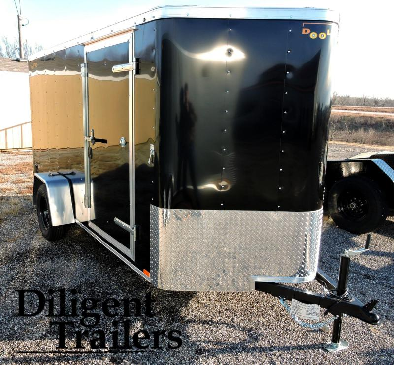 2019 Doolittle Trailer Single Axle Enclosed Cargo Trailer