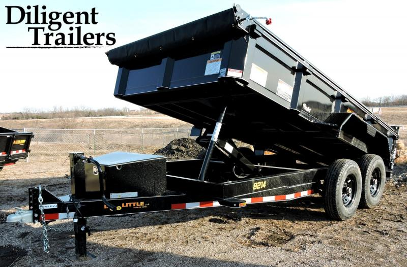 2019 Doolittle Trailer Masterdump 8200 Series 82 x 14 Tandem Axle 14K Dump Trailer