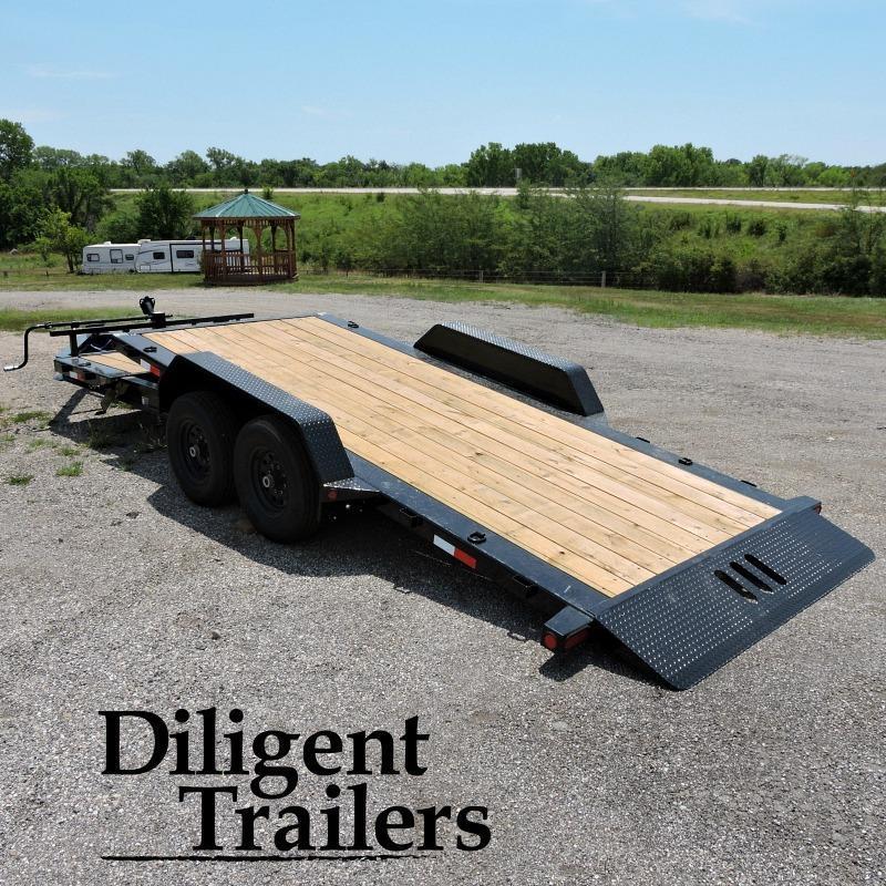 """2018 Load Trail 83"""" x20' Tandem Axle Tilt Deck"""
