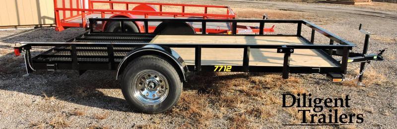 2019 Doolittle Trailer Rally Sport Single Axle Utility