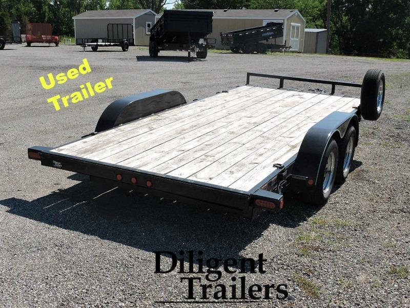 "Used 2014 Load Trail 83""x16' Car Hauler"