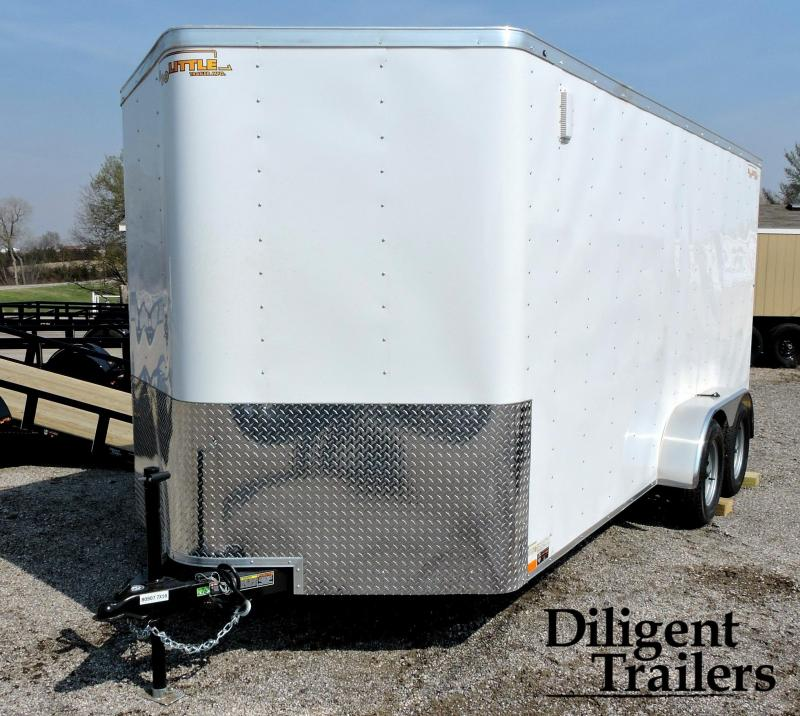 2019 Doolittle Trailer 7'x16' Cargomaster Tandem Axle 7K Enclosed Cargo Trailer