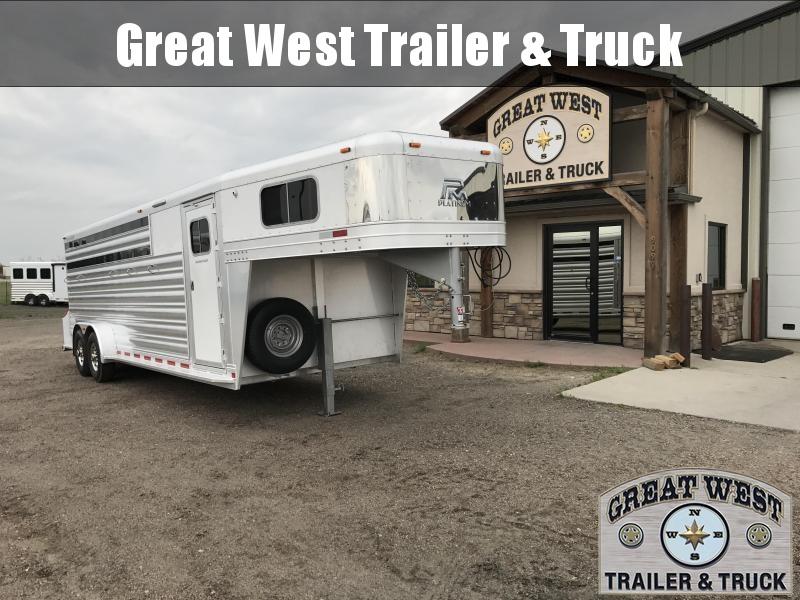 2018 Platinum Coach 5 Horse Trailer