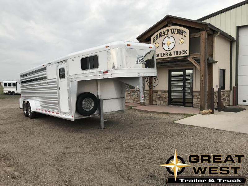 2018 Platinum Coach 5 Horse Trailer