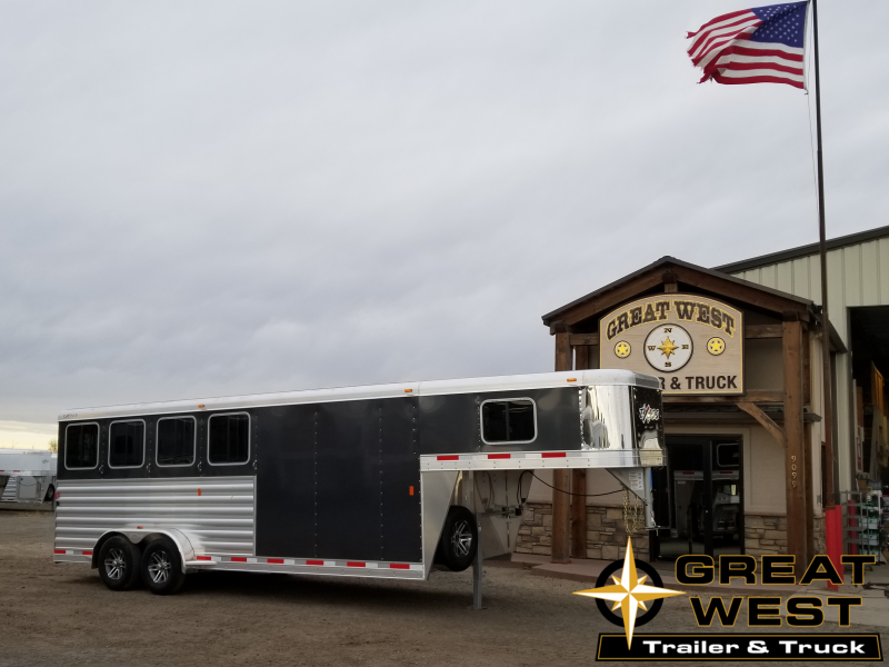 2019 Exiss 7400 Horse Trailer