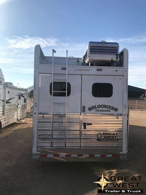 "2019 Bloomer 15'6"" short wall 4H slide out PC load Trailer"
