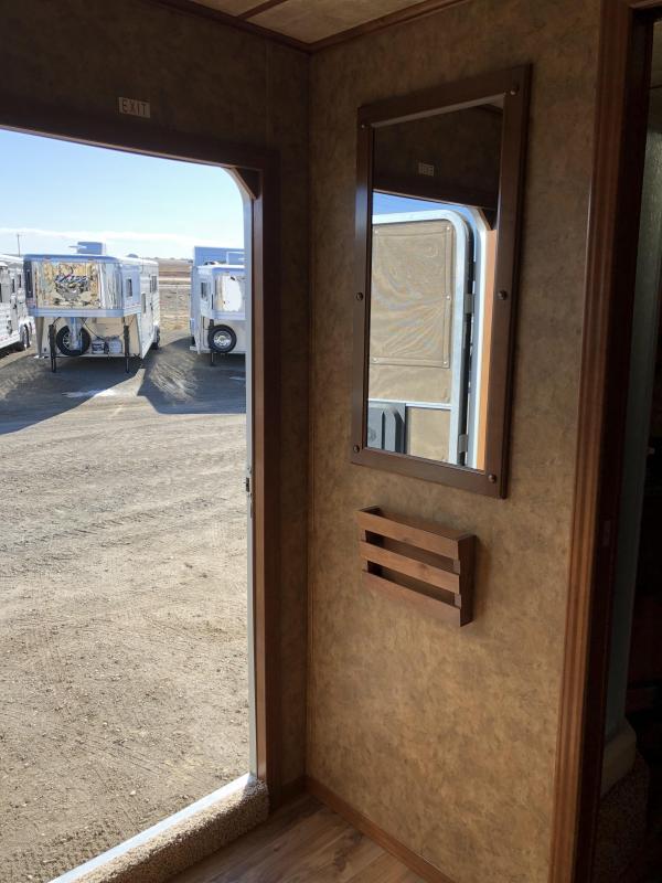 2018 Exiss Stock Combo Living Quarters Horse Trailer