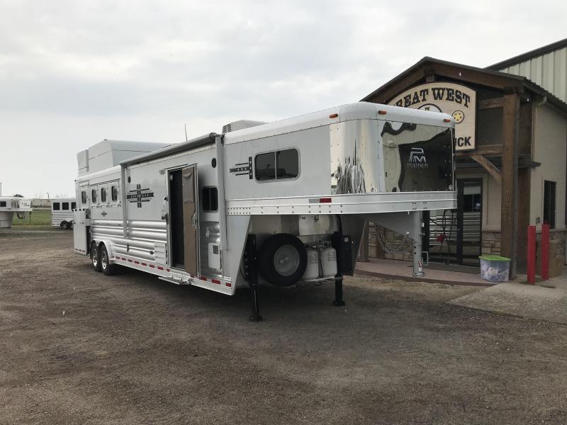 2018 Platinum Coach 4H w/ LQ Horse Trailer
