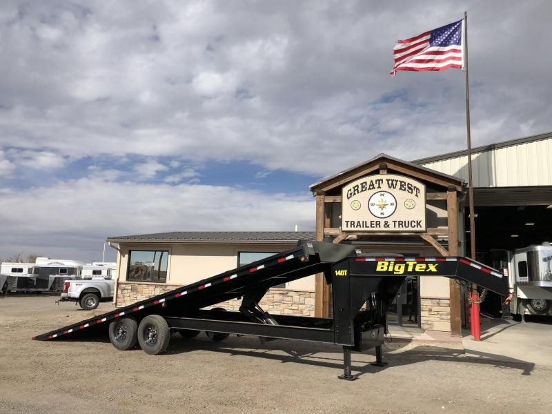 2019 Big Tex Trailers 14OT-26 Hydaulic Tilt Deck Trailer with Winch Utility Trailer