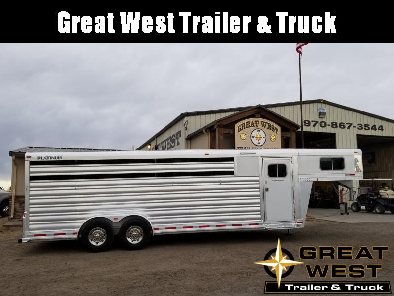 2018 Platinum Coach 24 C-Sport Horse Trailer