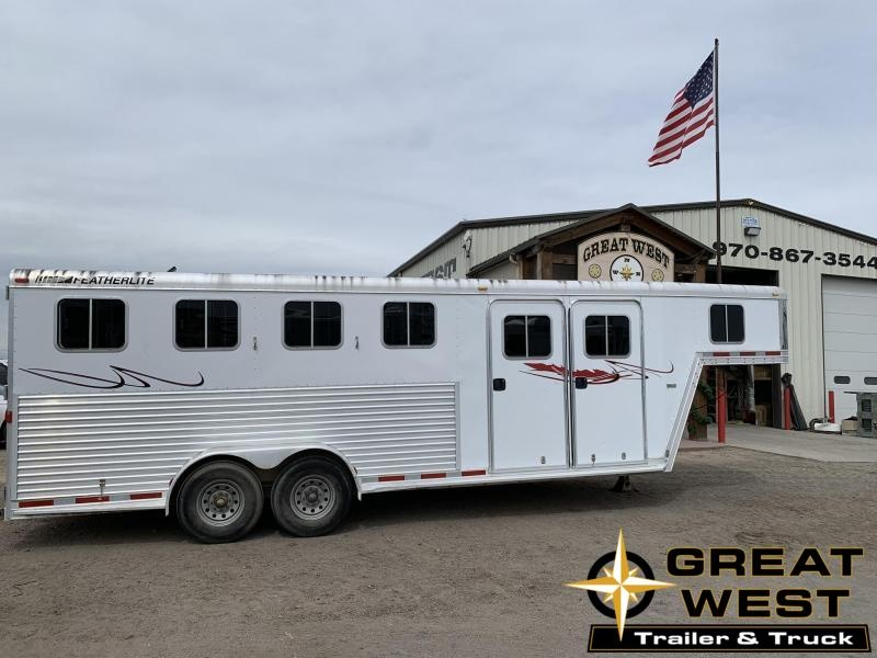 2005 Featherlite 4 Horse Trailer