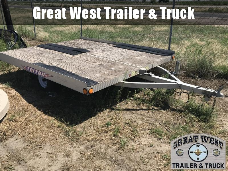 2001 Triton Snowmobile Trailer