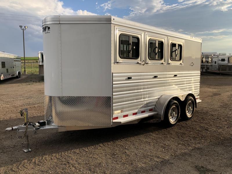 2019 CM Renegade 3 Horse Trailer w/ REAR Tack