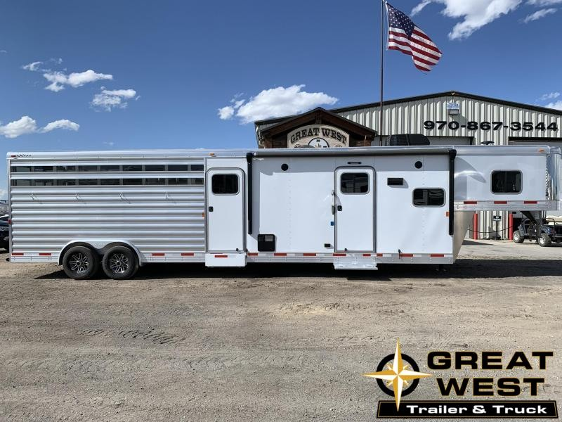 2019 Exiss 8032 Stock Combo with 10 Living Quarters Horse Trailer in Ashburn, VA
