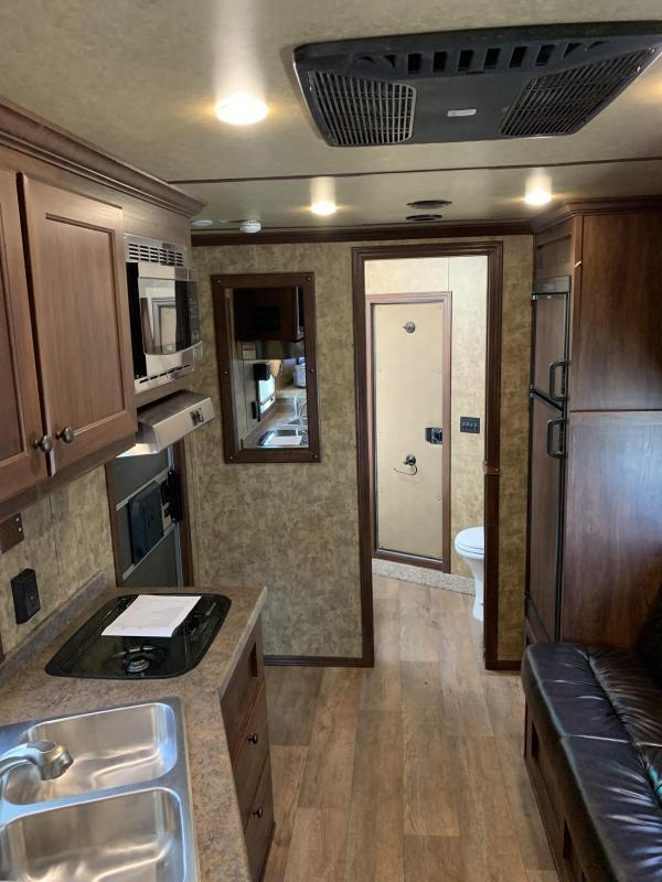 2019 Exiss 8032 Stock Combo with 10 Living Quarters Horse Trailer