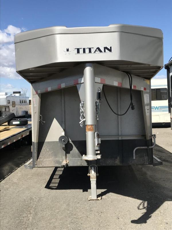 2014 Titan Trailers 24' Stock Trailer
