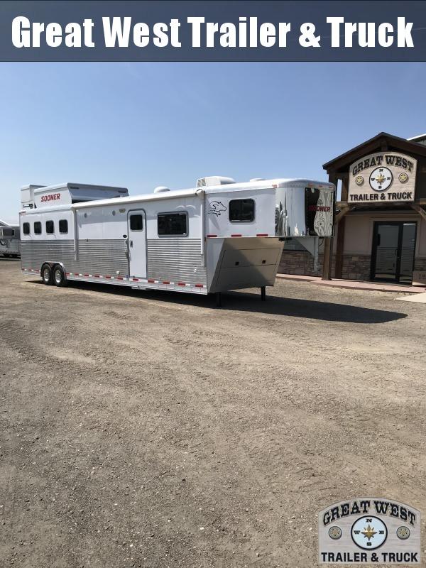 2009 Sooner Horse Trailer