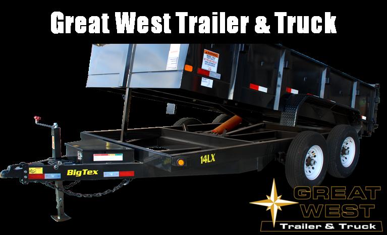 2019 Big Tex Trailers 14LX-14 Dump Trailer