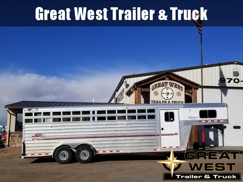 2015 4-Star Trailers STC Livestock Trailer
