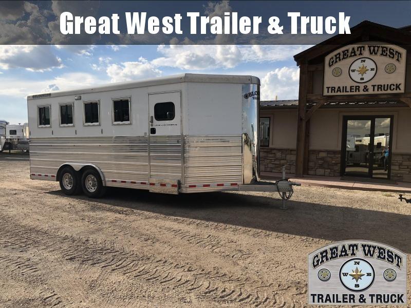 2016 Bloomer 4 horse Bumper Pull Trailer Manufacturing Horse Trailer