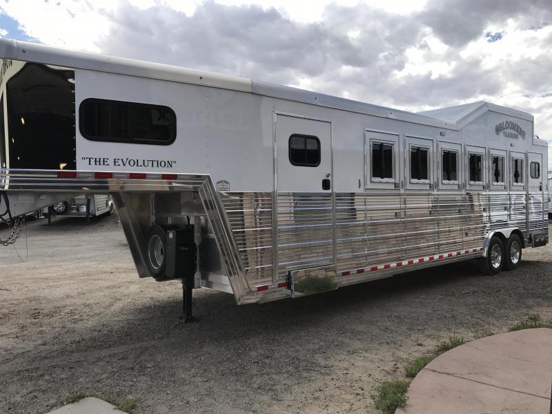 2018 Bloomer Trailer Manufacturing 6 Horse Trainer'sTrailer