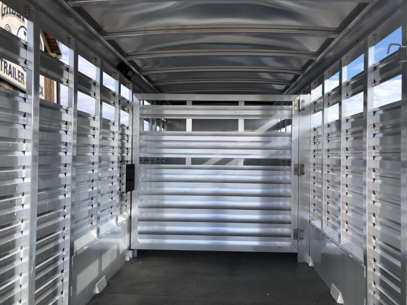 2019 Exiss Trailers STC 7020 Livestock Trailer