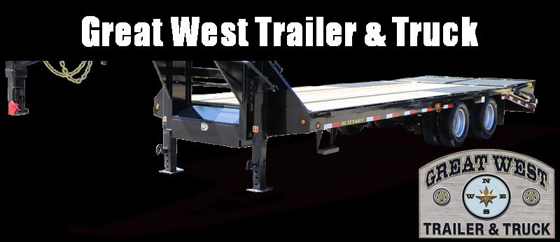 2018 Big Tex Trailers 25GN-255 Flatbed Trailer