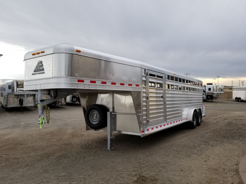 2019 Elite Trailers 24 Stock Trailer