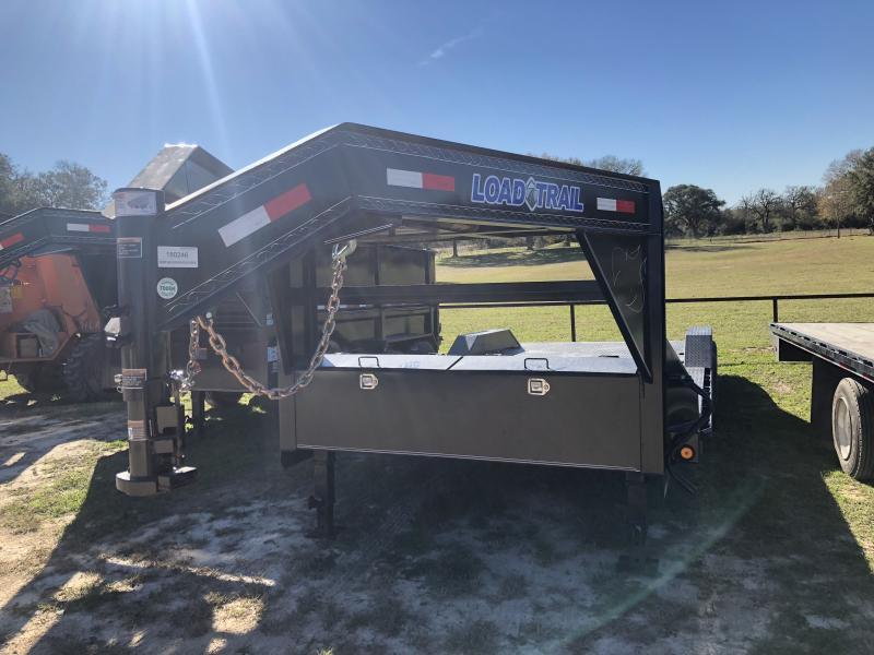 2019 Load Trail 102 x 22 Tandem Gooseneck Carhauler Steel Deck