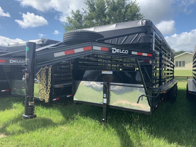2019 Delco Trailers 20' BARTOP 14K GOOSENECK