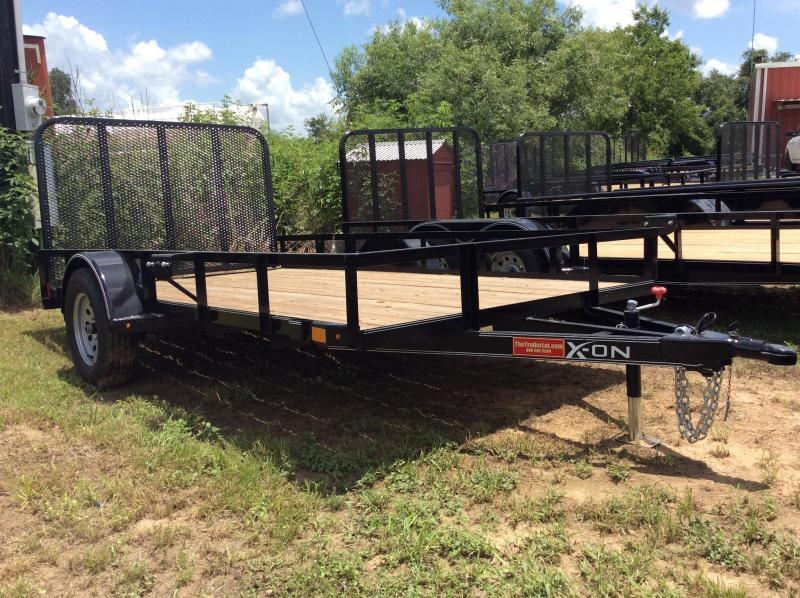 2018 X-On 77X12 WITH 4 GATE Utility Trailer