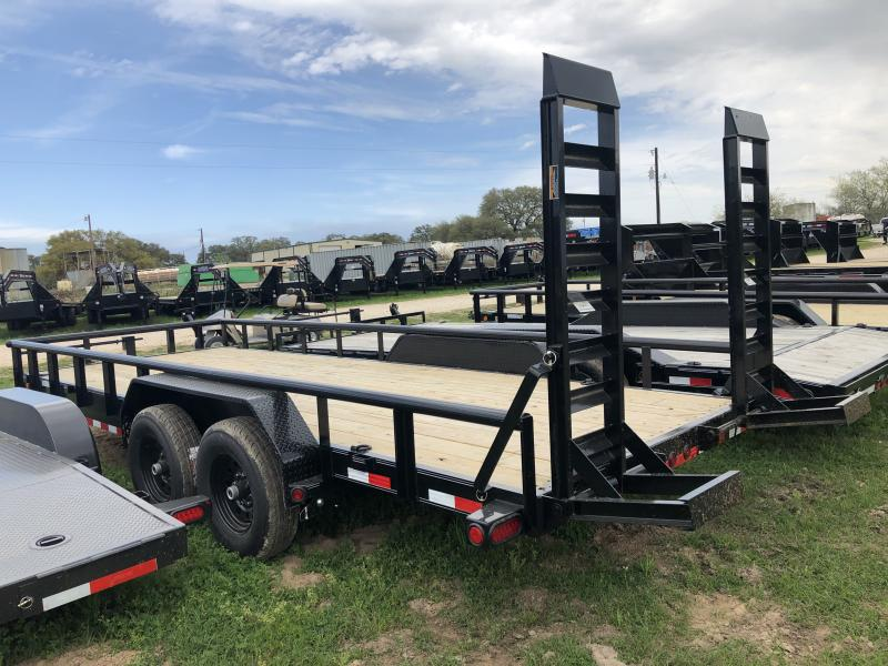 2019 Load Trail 20' PIPEOP W/ STAND UP RAMPS