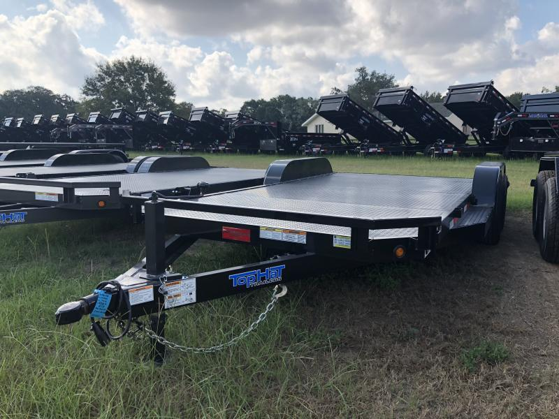 2019 Top Hat Trailers 18 Steel Deck Carhauler / Racing Trailer