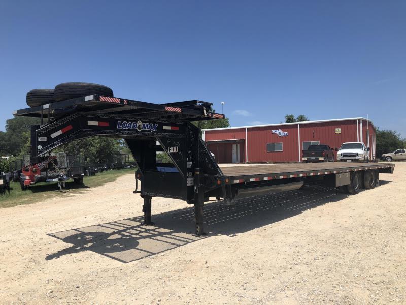 2015 Load Trail 102 x 40' Gooseneck Air Ride Spread Axle Flatbed Trailer