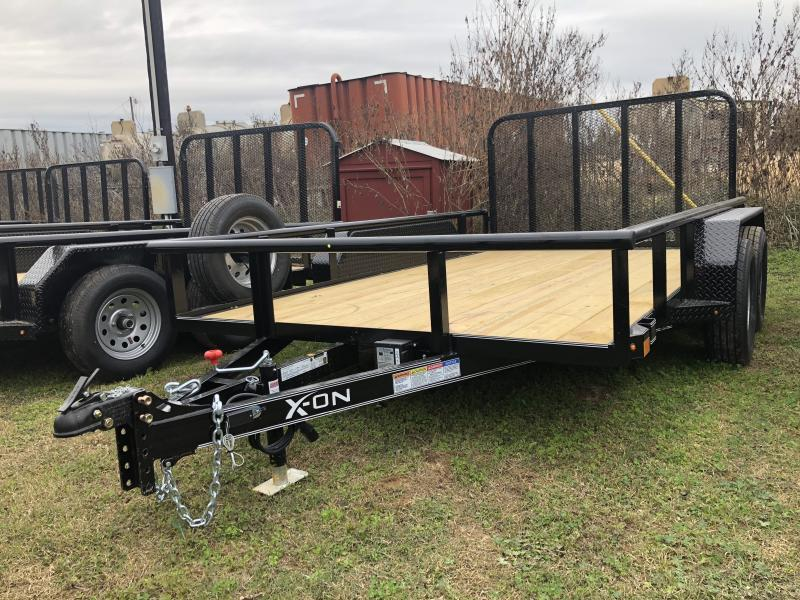 2019 X-On 83X12 Pipe Top Utility Trailer