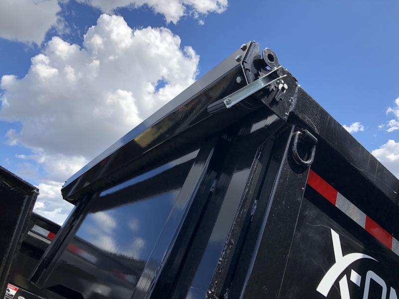 """2018  83"""" x 12' X-On Gooseneck Dump Trailer"""