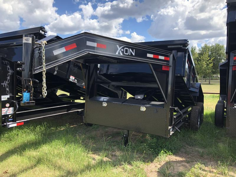"2018  83"" x 12' X-On Gooseneck Dump Trailer"