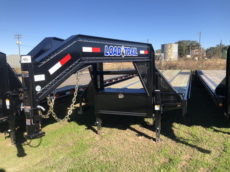 2019 Load Trail 102 x 38 Tandem Low-Pro Gooseneck Flatbed Trailer