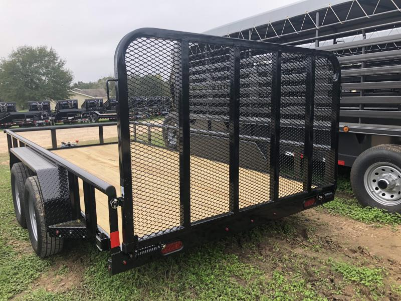 2018 X-On 83X14 Pipe Top Utility Trailer
