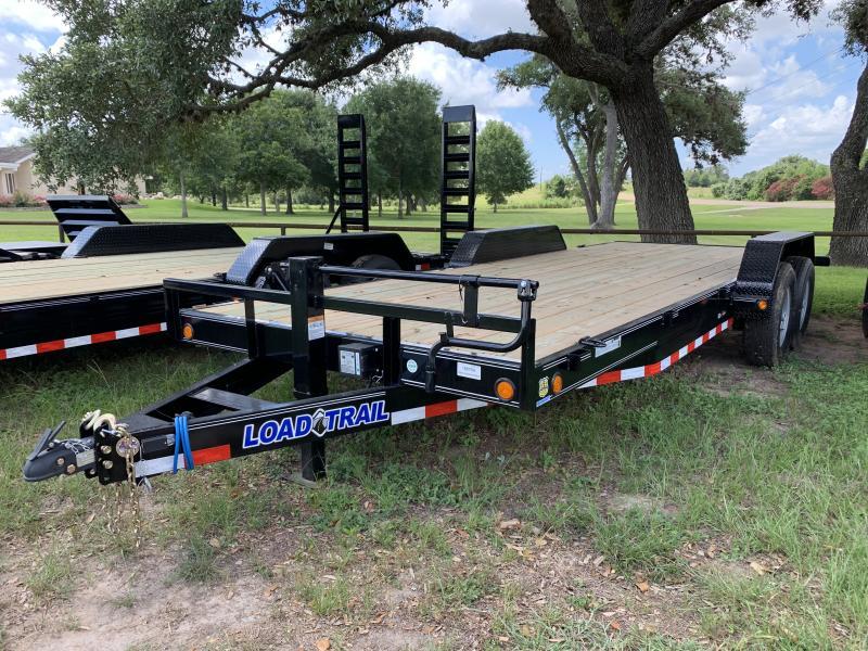 2019 Load Trail 83X20 REAR SLIDE IN RAMPS