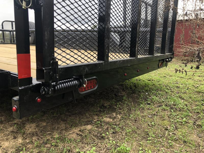 2019 X-On 83X14 Pipe Top Utility Trailer