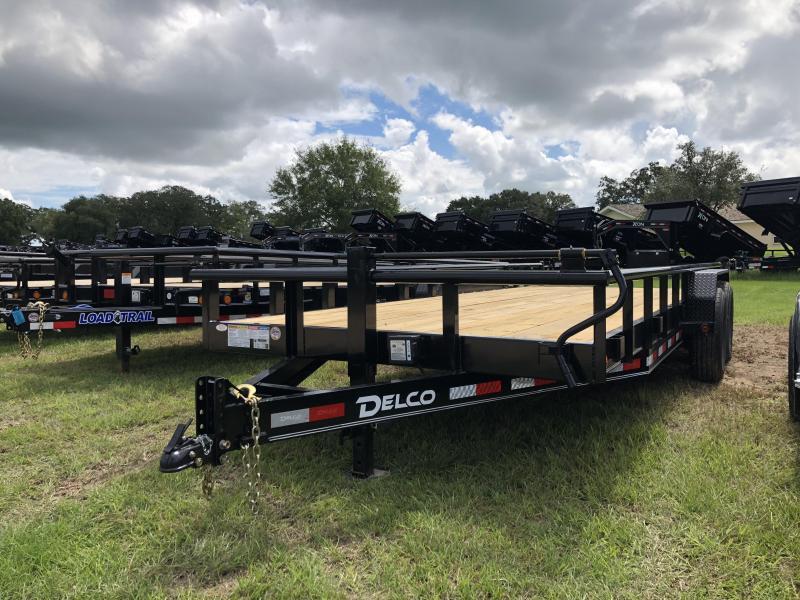 2019 Delco Trailers 83 x 20 Utility Trailer