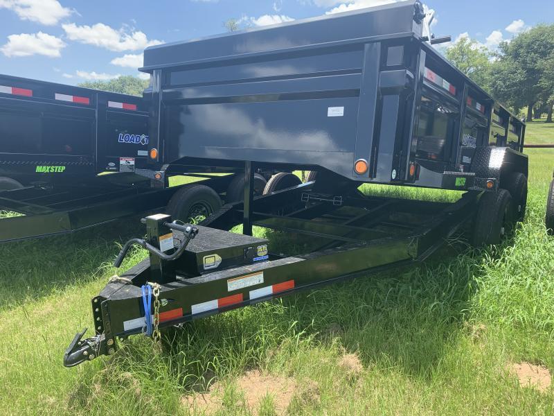 2019 Load Trail 14' DUMP TRAILER W/ DROP AXLES 14K