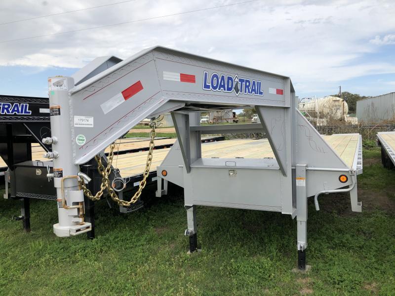 2019 Load Trail 40' GOOSENECK MAX RAMPS