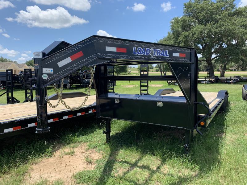 2019 Load Trail 26' GOOSENECK CARHAULER SLIDE IN RAMPS