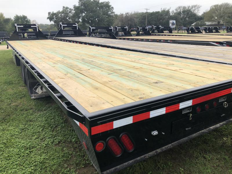 2019 Load Trail 102 x 40 Tandem Heavy Duty Gooseneck Air Ride Flatbed Trailer