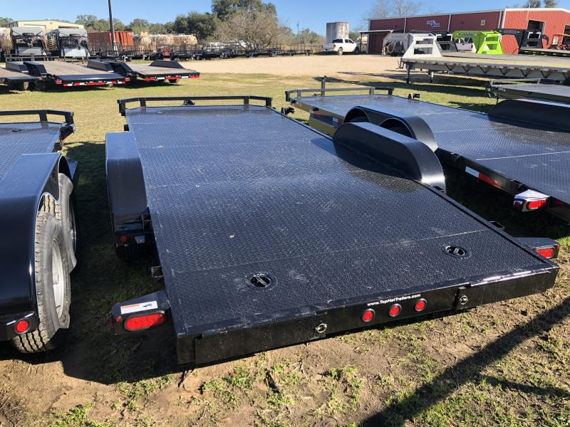 2019 Top Hat Trailers 83 x 18 Steel Deck Carhualer