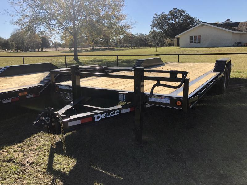 2019 Delco Trailers 102x22 Slide in Ramps