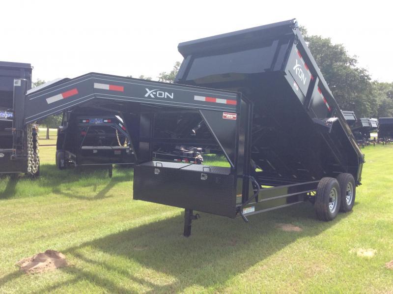 2018 X-On 83x14 Gooseneck Dump Trailer